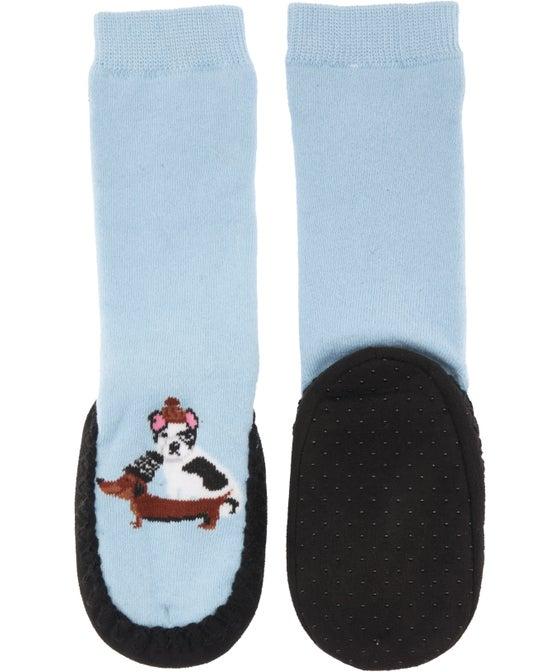 Girls' Moccasin Sock