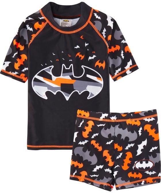 Kids' Licensed Batman Rashie Set