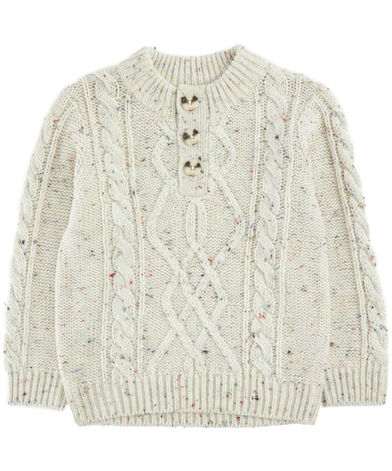 Little Kids' Chunky Cable Knit Jumper