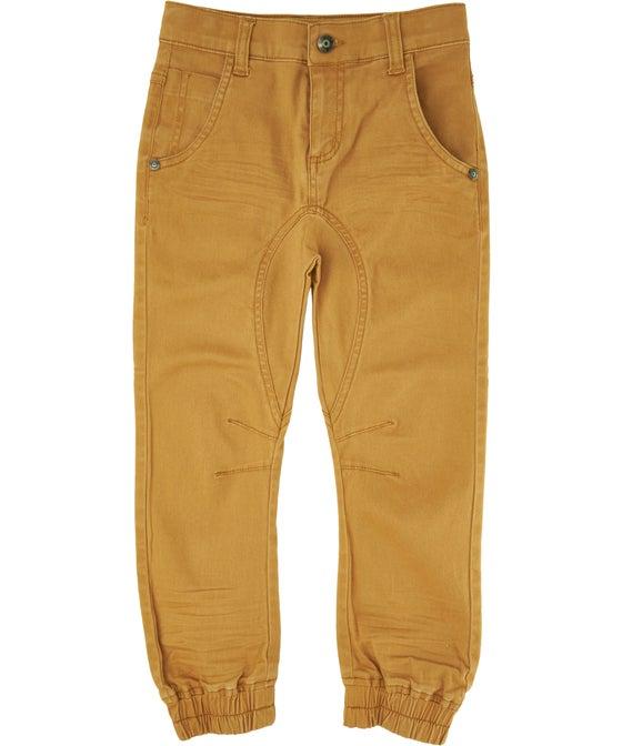 Little Kids' Coloured Denim Cuffed Jean