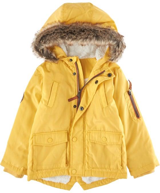 Little Kids' Fur Hood Parka