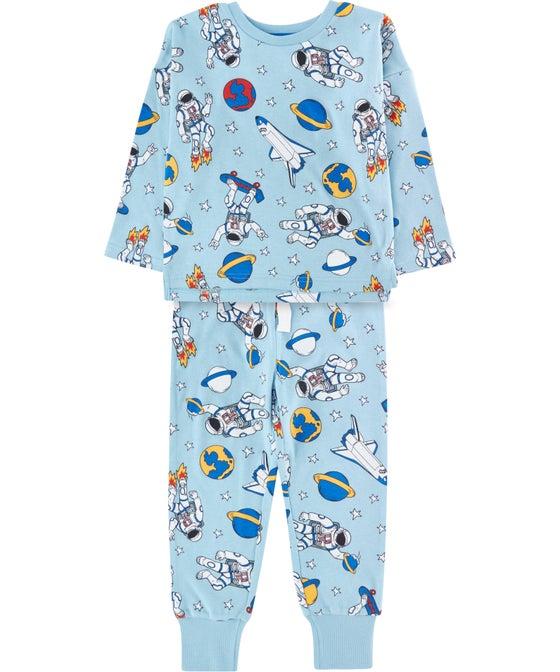 Little Kids' All Over Print Knit PJ