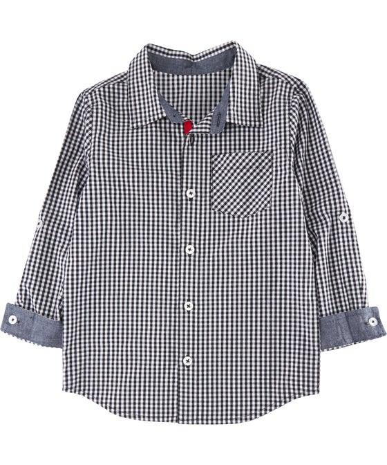Little Kids' Mini Me Cotton Shirt