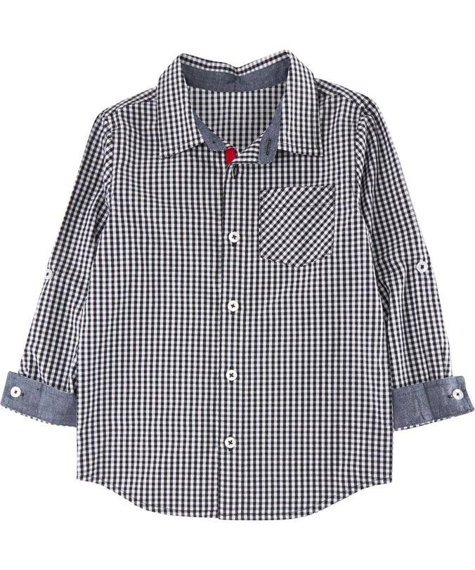 IB L/S Mini Me Cotton Shirt