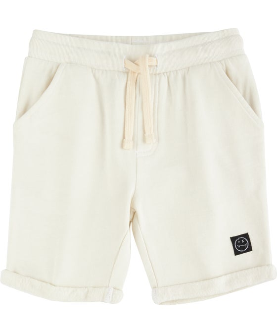 Little Kids' Organic Cotton Sweat Shorts