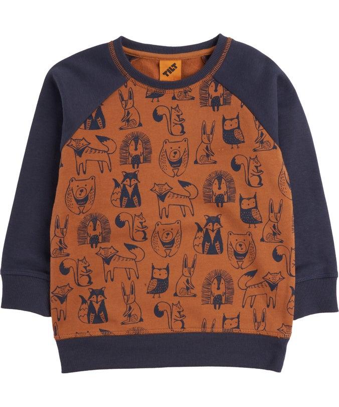 IB Printed Sweatshirt