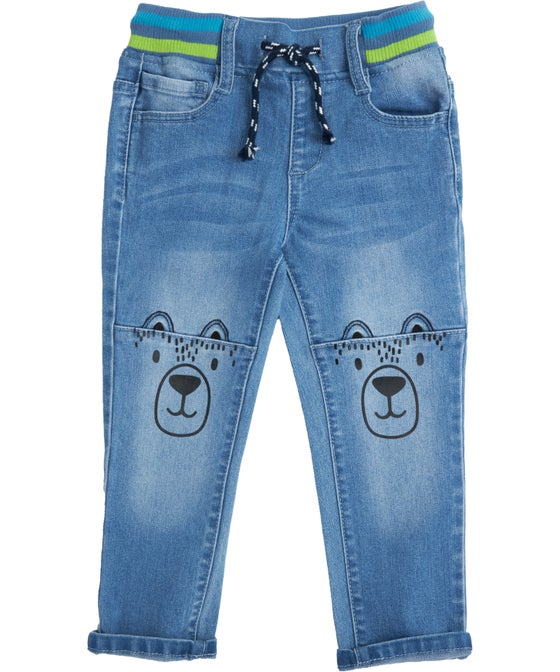 Little Kids' Taper Novelty Jeans
