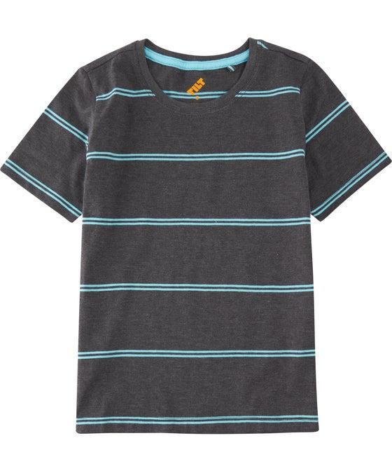 Little Kids' Short Sleeve Stripe Tee