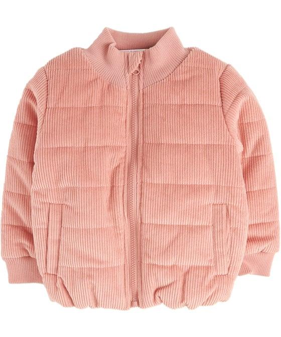 Kids Cord Puffer Jacket
