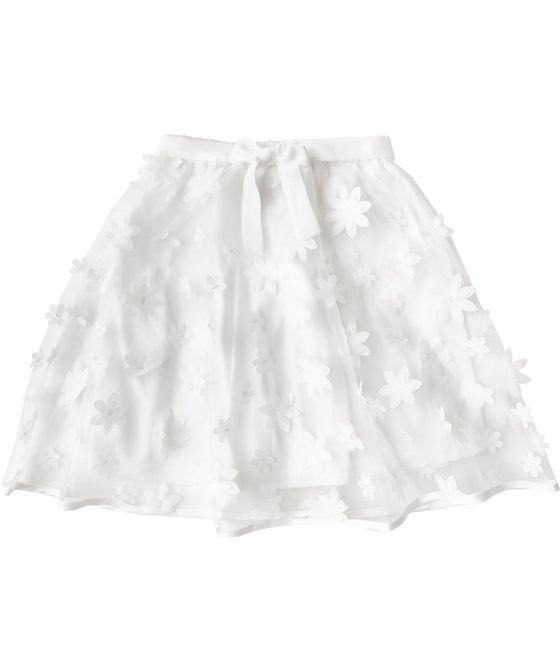 Little Kids' Daisy Organza Skirt