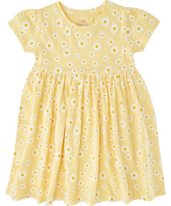 Little Kids' Flutter Sleeve Babydoll Knit Dress