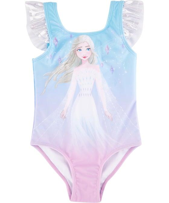 Little Kids' Licensed Frozen Swimsuit