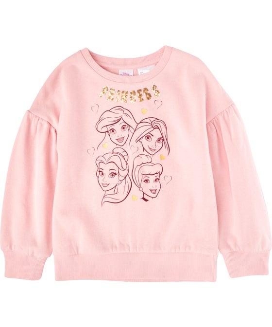 Little Kids' Licensed Princesses Sweatshirt