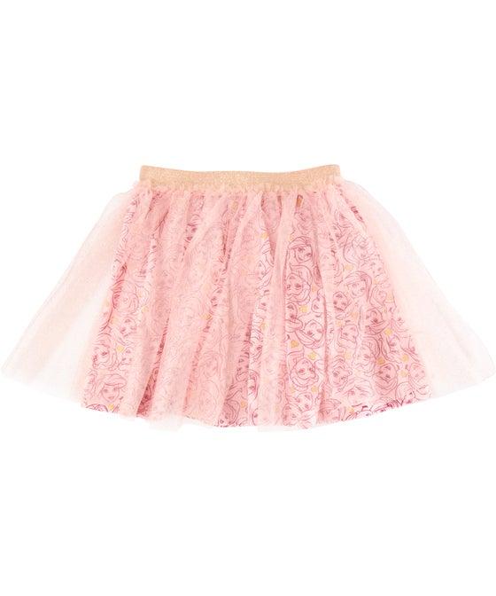 Little Kids Licensed Princesses Tulle Skirt