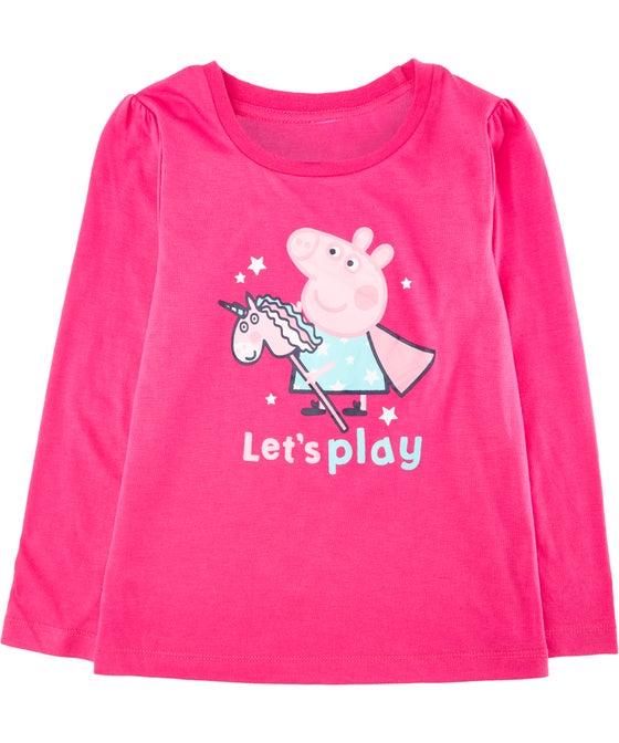 Little Kids' Licensed Peppa Pig Tee