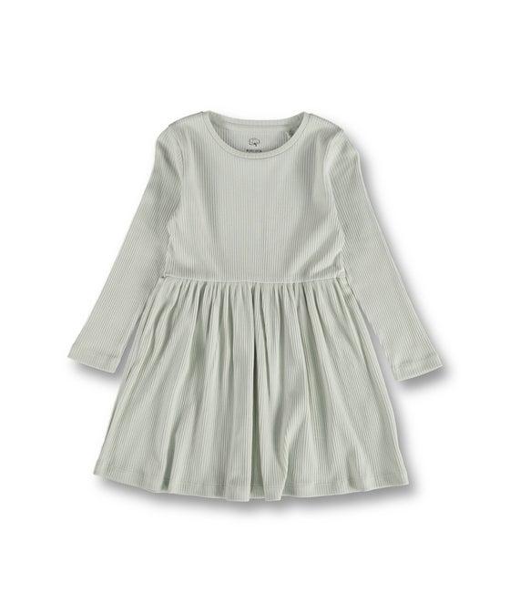 Little Kids' Organic Rib Knit Dress