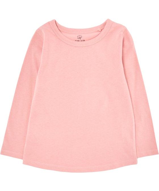 Little Kids' Organic Long Sleeve Top
