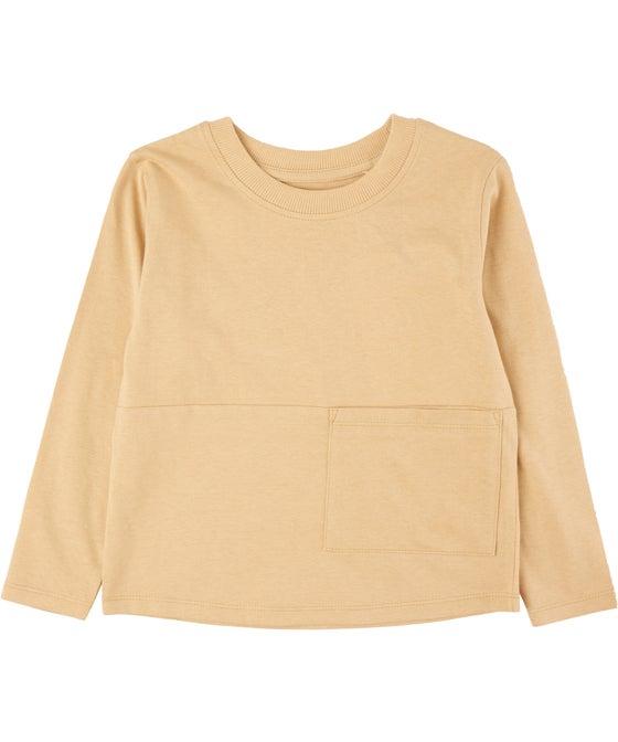 Little Kids' Long Sleeve Pocket Top
