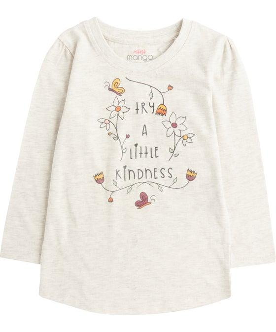 Little Kids' Long Sleeve Print Tee