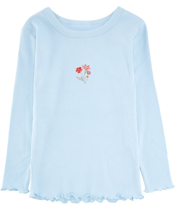 Little Kids' Rib Placement Tee