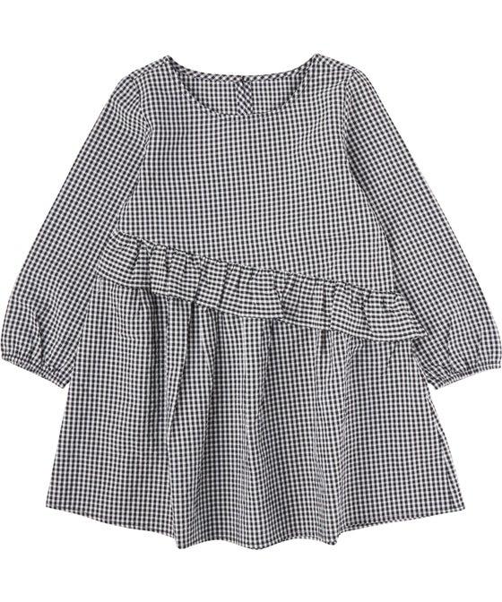 Little Kids' Mini Me Woven Ruffle Dress