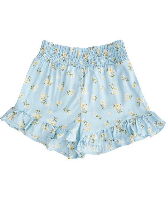 Little Kids' Printed Shirred Woven Short