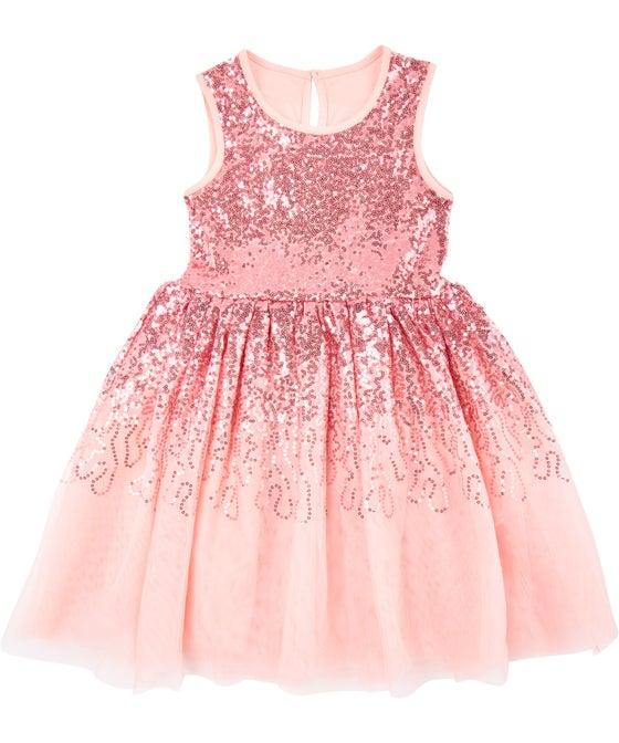Little Kids' Sequin Party Dress