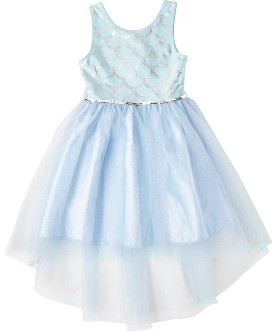 Little Kids' Foil Print Princess Dress