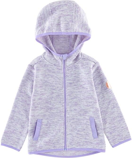 Little Kids' Speckle Fleece Hooded Sweatshirt