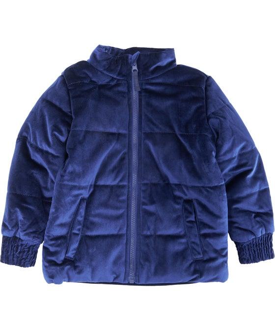Little Kids' Velvet Jacket