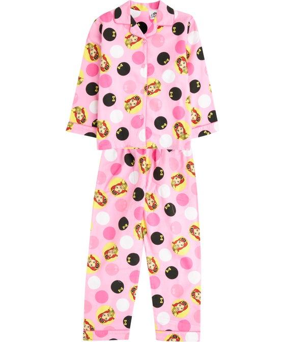 Little Kids' Licensed Character Flannel Pyjamas