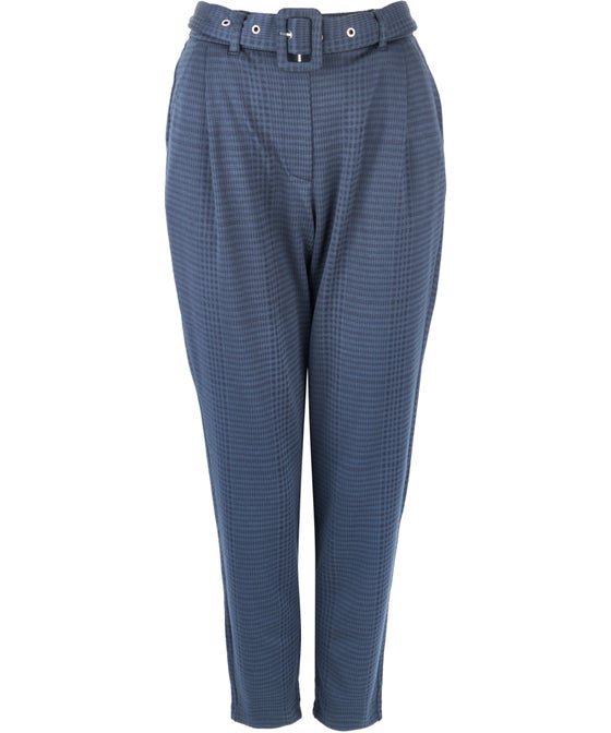 Women's Belted Jersey Jogger