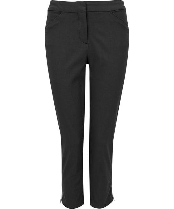 Women's Bermuda Zip Crop Pant