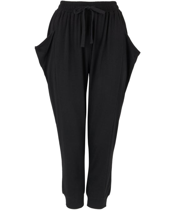 Women's Casual Dropped Crotch Jogger