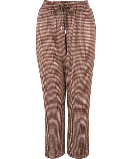 Women's Check Knit Pant
