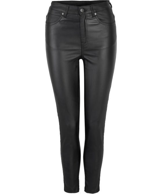 Women's Coated High Rise Pant