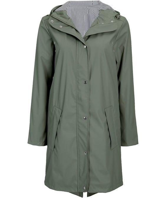 Women's Coated Parka Jacket