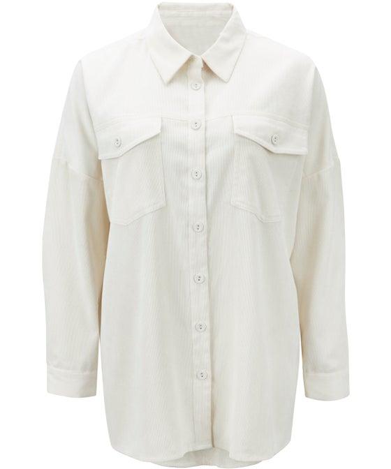 Women's Cord Overshirt