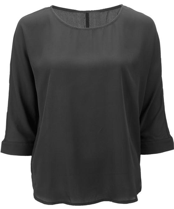 Women's Drop Shoulder Shell Top