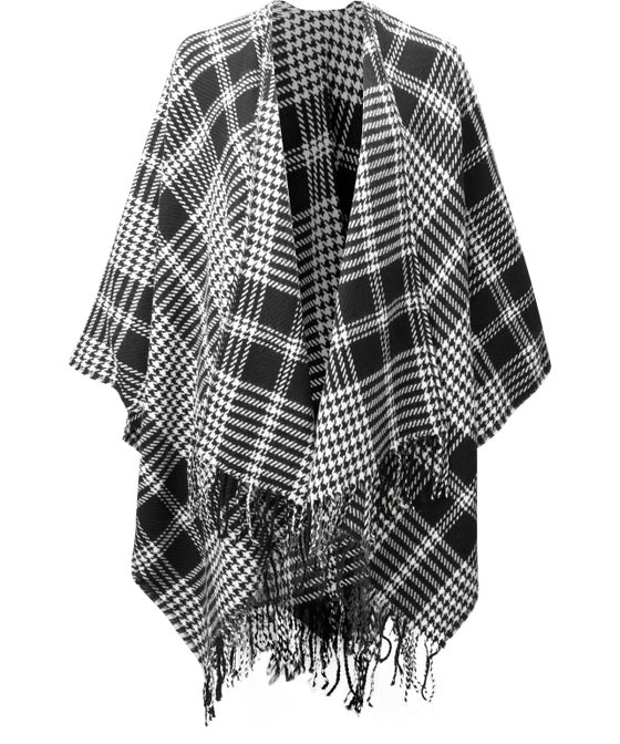 Women's Edited Houndstooth Wrap