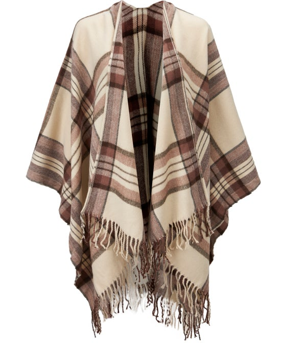 Women's Edited Red Check Wrap
