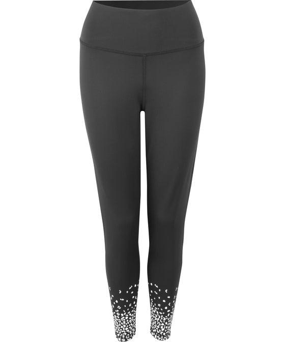 Women's Elite High Rise Print Hem Legging