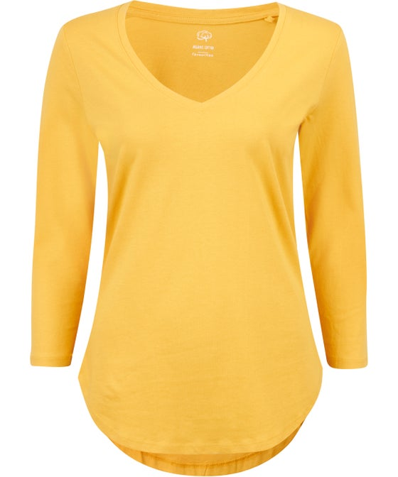 Women's Fav 3/4 Sleeve Organic Top