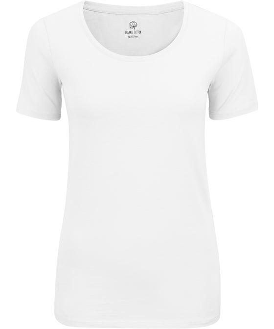 Women's Scoop Neck Organic Cotton T-shirt