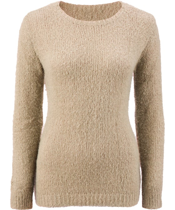 Women's Fluffy Knit Jumper