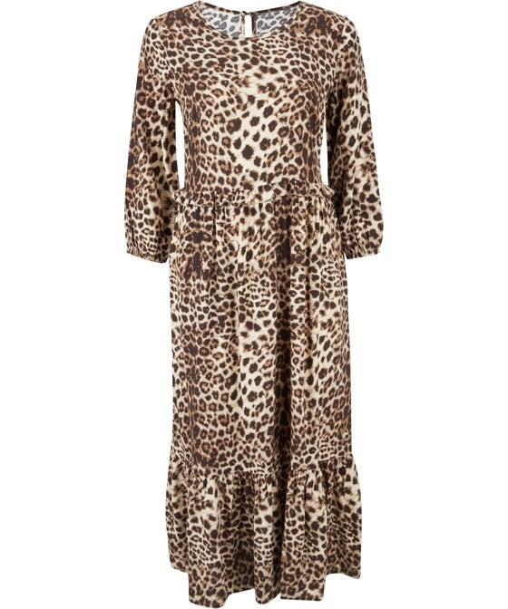 Women's Frill Detail Midi Dress