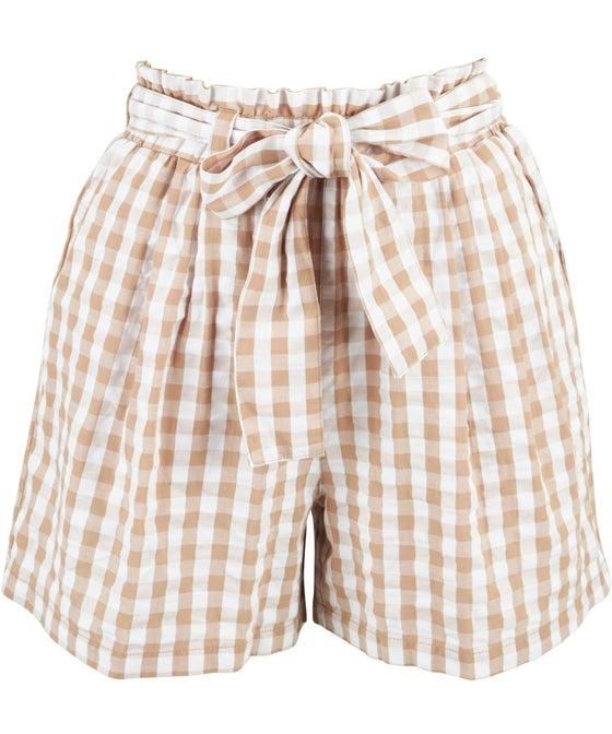 Women's Gingham Shorts