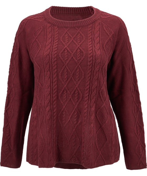 Women's Isobelle Cable Knit Relaxed Jumper