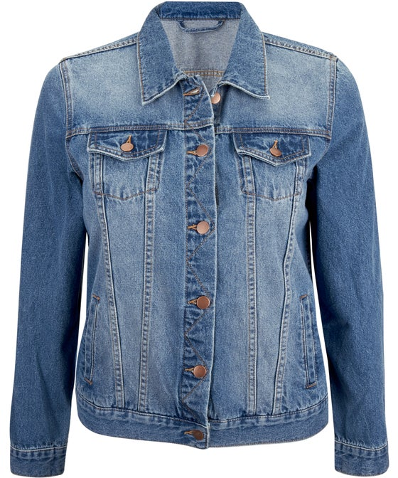 Women's Isobelle Plus Classic Denim Jacket