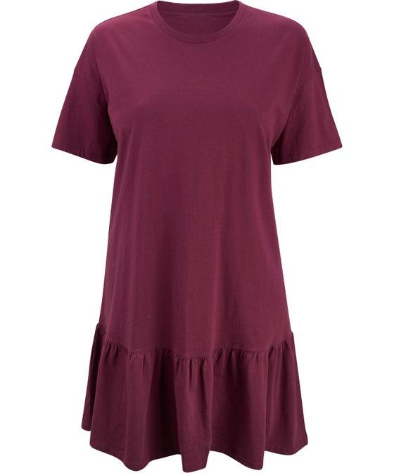 Women's Isobelle Frill Hem T-Shirt Dress